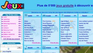 Site Officiel www jeux com