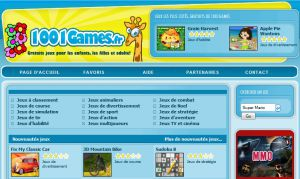 Site officiel : http://www.1001games.fr