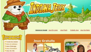 Site officiel : http://www.indiana-jeux.com