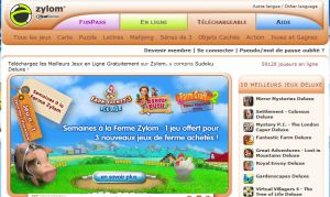Site officiel : http://www.zylom.com