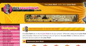Site officiel : http://www.desjeuxflash.com