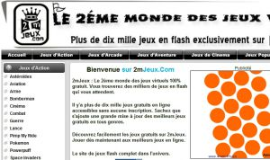 Site officiel : http://www.2mjeux.com