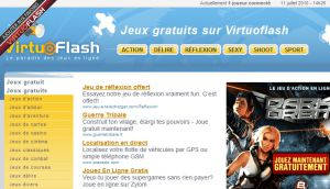 Site officiel : http://www.virtuoflash.com