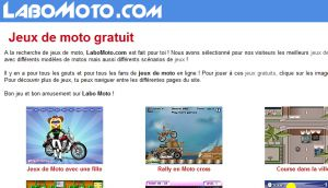 Site officiel : http://www.labomoto.com