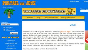 Site officiel : http://www.portaildesjeux.com