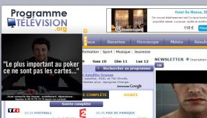 Site officiel : http://www.programme-television.org