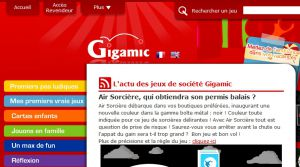 Site officiel : http://www.gigamic.com