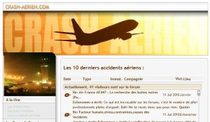 Site officiel : http://www.crash-aerien.aero