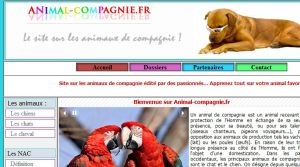 Site officiel : http://www.animal-compagnie.fr
