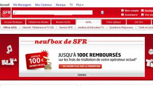 Site officiel : http://adsl.sfr.fr