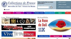 Site officiel : http://www.collectionsdefrance.fr