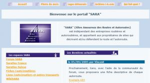 Site officiel : http://site.sara.free.fr
