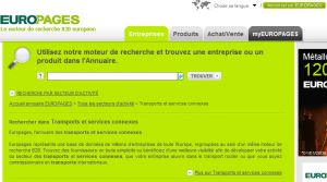Site officiel : http://transports-services-connexes.europages.fr
