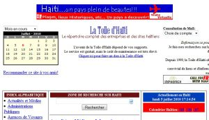 Site officiel : http://www.toiledhaiti.com