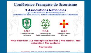 Site officiel : http://www.scoutisme.org