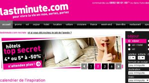 Site Officiel www fr lastminute com