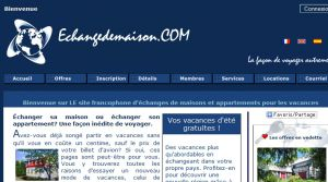 Site officiel : http://www.echangedemaison.com