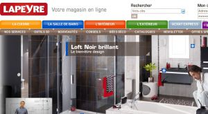 Site officiel : http://www.lapeyre.fr
