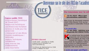 Site Officiel pedagogie ac-toulouse fr