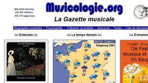 Site officiel : http://www.musicologie.org
