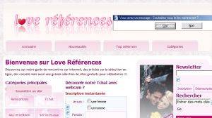 Site officiel : http://www.love-references.com