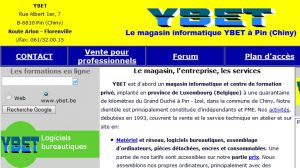 Site officiel : http://www.ybet.be