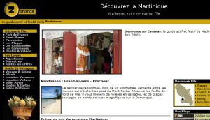 Site officiel : http://www.zananas-martinique.com