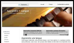 Site officiel : http://www.apprendre1langue.com