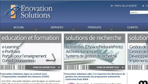 Site officiel : http://www.enovationsolutions.fr