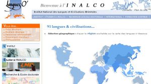 Site officiel : http://www.inalco.fr