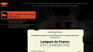Site officiel : http://www.languesdefranceenchansons.com