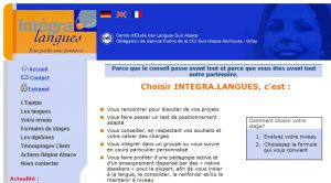 Site officiel : http://www.integra-langues.com