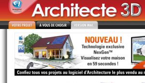 Site officiel : http://www.architecte3d.com