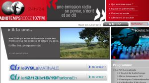 Site officiel : http://www.radiotemps.com