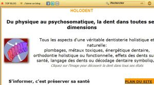 Site officiel : http://www.holodent.com