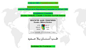 Site officiel : http://www.dentist-dentiste.com