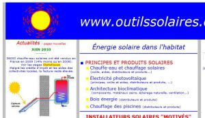 Outils Solaires - Energie solaire