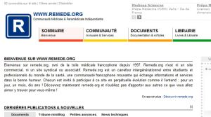 Site officiel : http://www.remede.org