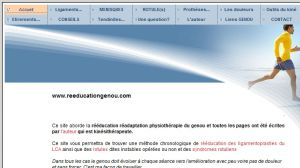 Site officiel : http://www.reeducationgenou.com