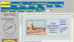 Site officiel : http://yvan.raymond.reeduc.free.fr
