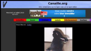 Site officiel : http://www.canaille.org
