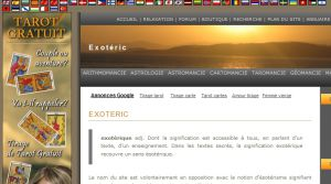 Site officiel : http://www.exoteric.fr