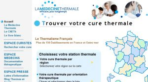 Site officiel : http://www.france-thermale.org