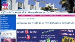 Site officiel : http://www.dax-tourisme.com