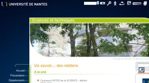 Site officiel : http://www.sciences-techniques.univ-nantes.fr