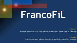 Site officiel : http://www.francofil.net