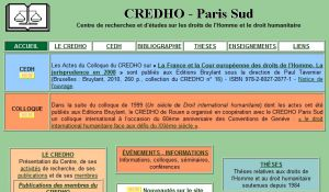 Site officiel : http://www.credho.org