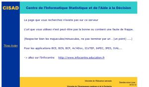 Site officiel : http://cisad.adc.education.fr