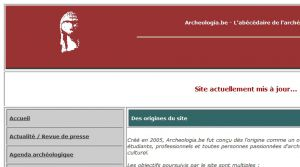 Site officiel : http://www.archeologia.be