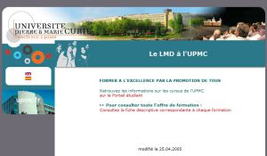 Site officiel : http://lmd.upmc.fr